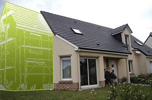 Agrandissement/extension d'habitation