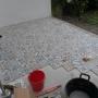 img Contrsuction terrasse avec pose de carrelage à motifs
